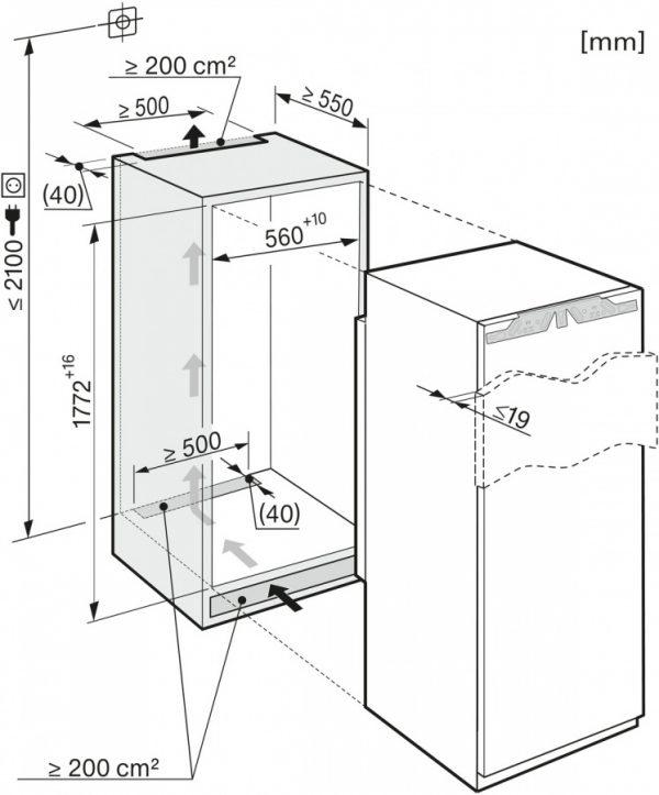 Холодильник K37672iD