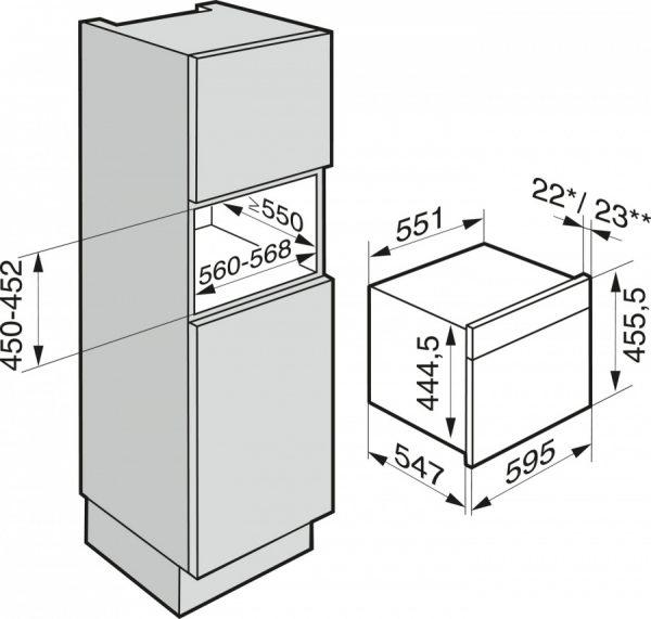 Пароварка с СВЧ DGM7640 GRGR графитовый серый