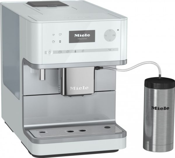Кофемашина CM6350 LOWE белый лотос