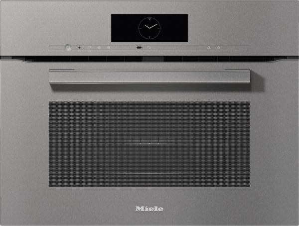 Духовой шкаф с СВЧ H7840BM GRGR графитовый серый